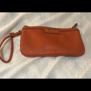 Nine West Orange clutch